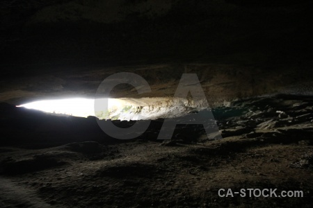 South america cave cueva del milodon chile rock.