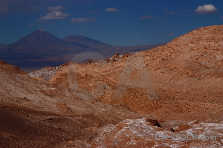 South america chile valley of the moon licancabur juriques.