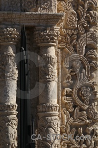 South america column pillar arequipa peru.