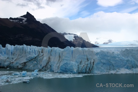 South america glacier cloud water lake argentino.