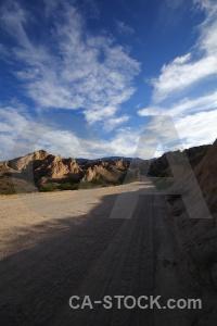 South america landscape valley argentina quebrada de las flechas.