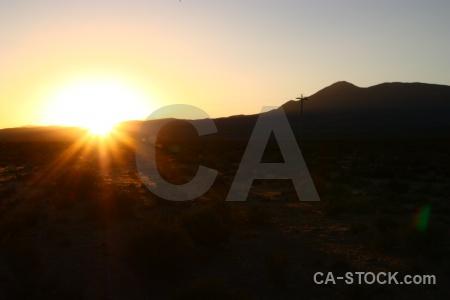 South america mountain landscape sunset altitude.