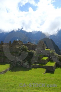 South america mountain machu picchu grass inca.