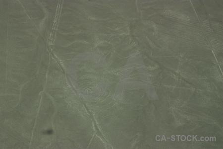 South america nazca peru aerial lines.