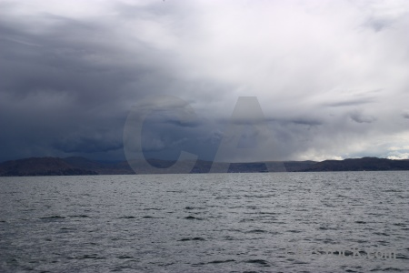 South america puno water landscape sky.
