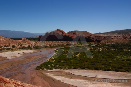 South america quebrada de cafayate las conchas river water salta tour 2.