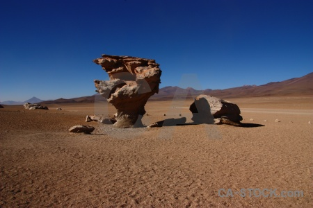 South america rock siloli desert bolivia formation.