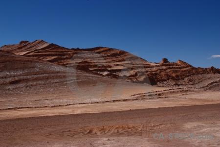 South america rock valle de la luna san pedro atacama cordillera sal.