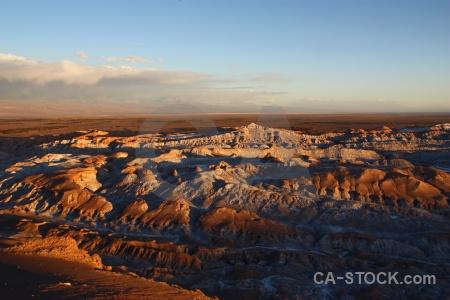 South america salt sky rock landscape.