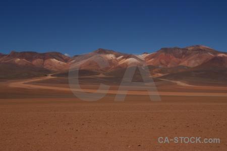 South america siloli desert sky bolivia landscape.