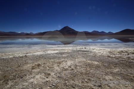 South america sky laguna blanca bolivia andes.