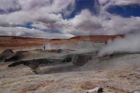 South america sky steam altitude rock.