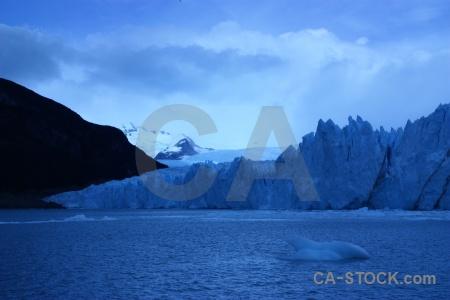 South america snowcap cloud argentina ice.