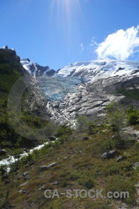 South america southern patagonian ice field argentina mountain huemul glacier.