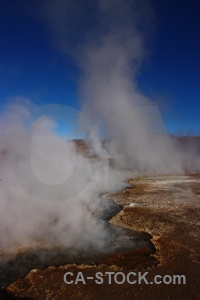 South america steam chile mountain atacama desert.