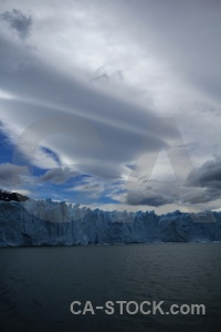 South america terminus lago argentino cloud argentina.