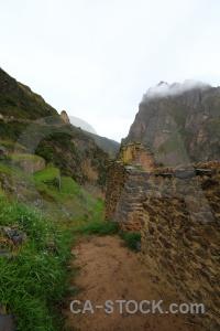 South america urubamba valley mountain ollantaytambo altitude.