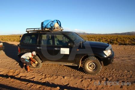 South america vehicle bolivia sky car.