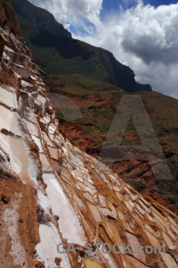 South america water andes salt mine peru.