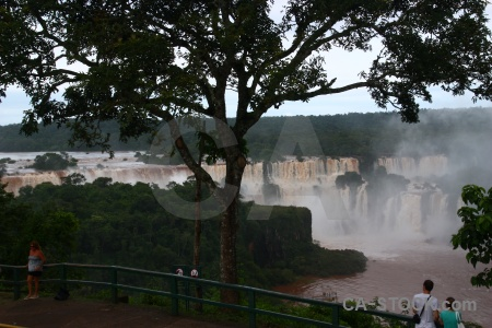 South america waterfall sky spray unesco.
