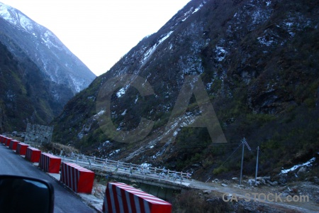 South asia araniko highway road nepal mountain.