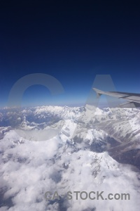 South asia cloud airplane sky everest.