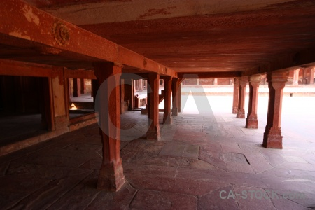 South asia inside india fort mughal.