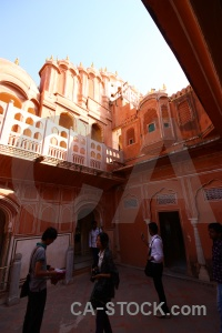 South asia jaipur person india building.