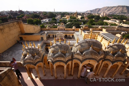 South asia palace of winds hawa mahal jaipur india.