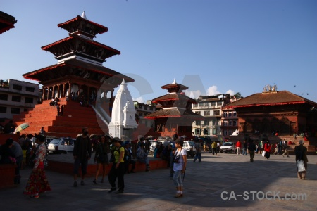 South asia temple durbar square buddhist unesco.