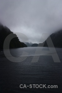 South island cloud doubtful sound fiordland new zealand.
