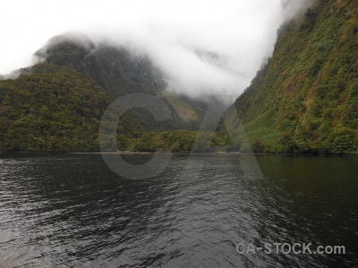 South island sky doubtful sound new zealand fiordland.