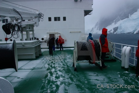 South pole antarctica cloud day 9 akademik ioffe.