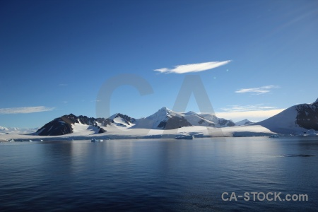 South pole antarctica mountain antarctic peninsula sea.
