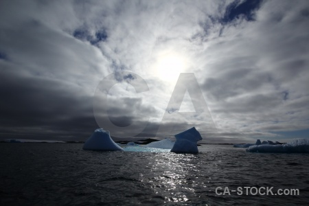 South pole argentine islands sea antarctic peninsula sky.