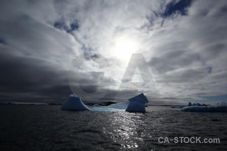 South pole argentine islands sea antarctic peninsula sky.