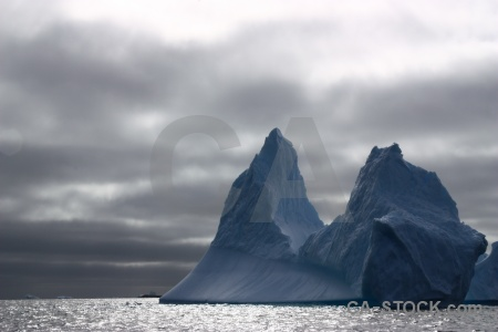South pole cloud antarctica ice sea.