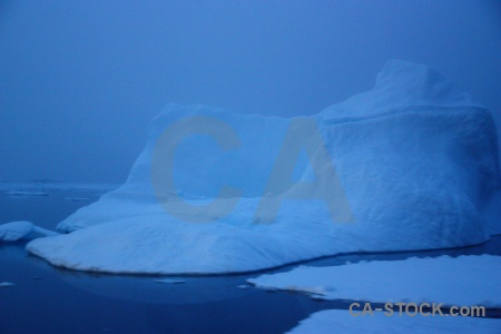 South pole fog sea ice water crystal sound.