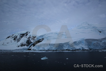 South pole sky cloud adelaide island antarctica.
