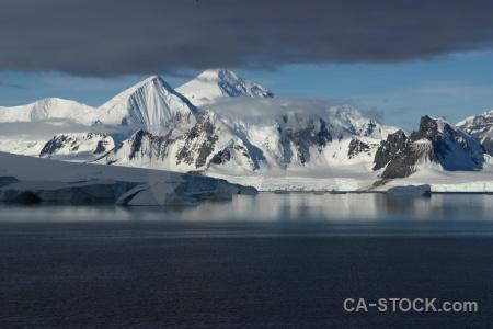 South pole snowcap marguerite bay antarctica cruise cloud.