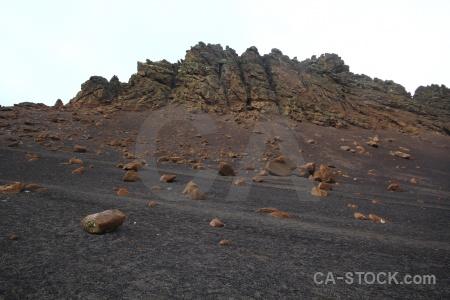 South shetland islands volcanic mountain landscape antarctica.