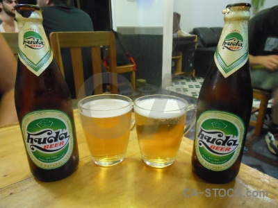 Southeast asia beer bottle drink nha trang.