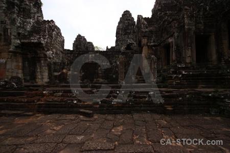 Southeast asia buddhist block siem reap unesco.