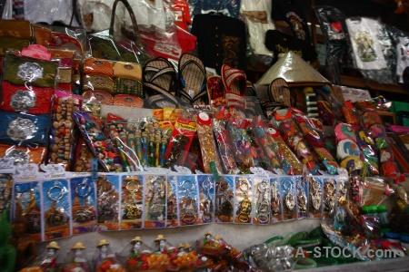 Southeast asia damnoen saduak market thailand ton khem.