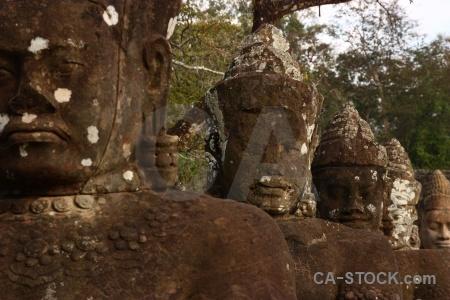 Southeast asia khmer buddhism ruin temple.