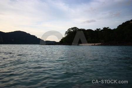 Southeast asia ko phi don water thailand island.