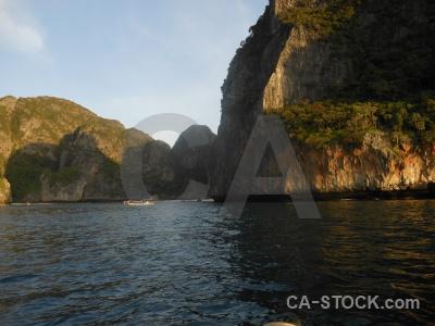 Southeast asia limestone cloud ko phi ley water.
