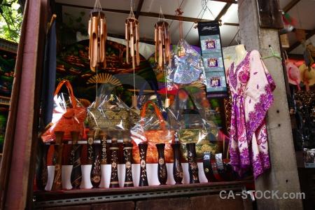 Southeast asia market damnoen saduak floating thailand.