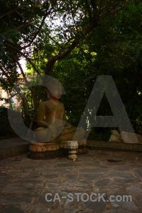 Southeast asia royal palace statue buddha phnom penh.