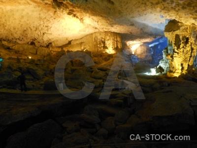Southeast asia stalagmite ha long bay amazing cave stalactite.